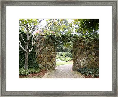 Enchanted Framed Print by James and Vickie Rankin
