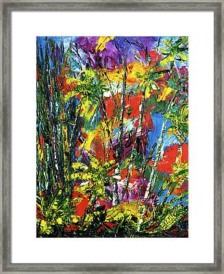 Enchanted Jungle  #167 Framed Print by Donald k Hall