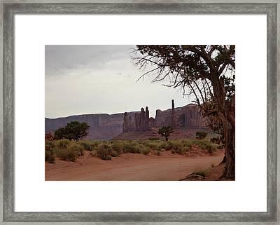 Enchanted Lands Framed Print by Gordon Beck