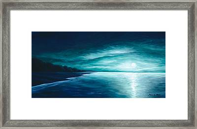 Enchanted Moon I Framed Print by James Christopher Hill