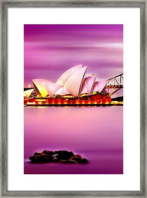 Enchanted Opera Framed Print