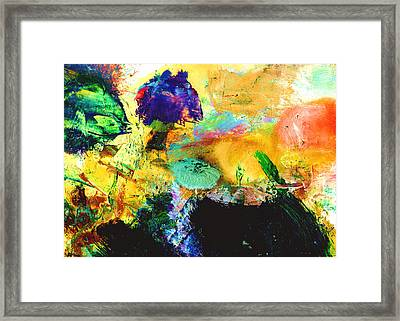 Enchanted Reef #306 Framed Print by Donald k Hall