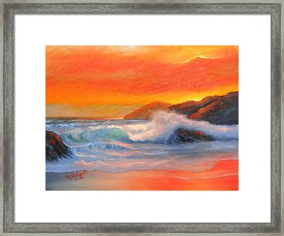 Enchanted Sea Framed Print