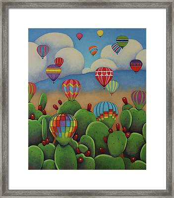 Enchanted Skies Framed Print by Gayle Faucette Wisbon