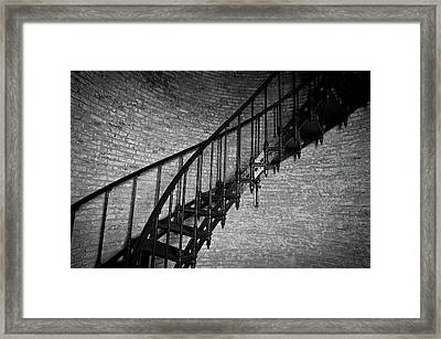 Enchanted Staircase II - Currituck Lighthouse Framed Print