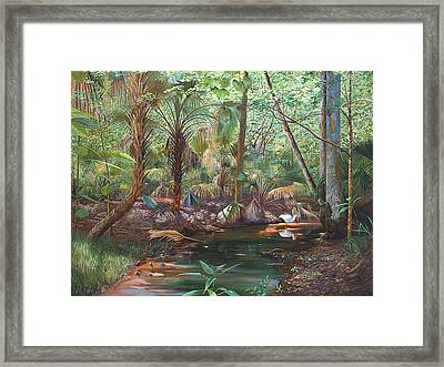 Enchanted Stream Framed Print