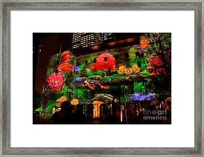 Enchanted Sydney - Floral By Kaye Menner Framed Print by Kaye Menner