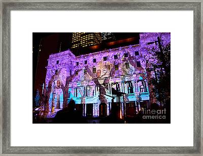 Enchanted Sydney - Wisteria By Kaye Menner Framed Print by Kaye Menner