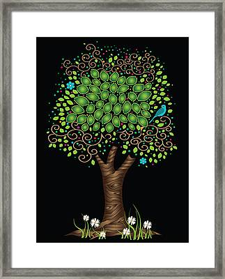 Enchanted Tree Framed Print by Serena King