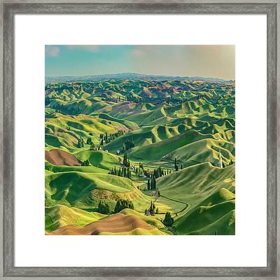 Enchanted Valley Award Winner Framed Print