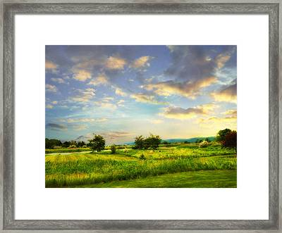 Enchanted Valley Framed Print