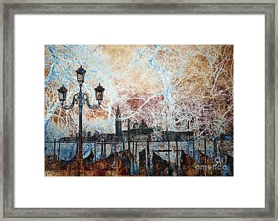 Enchanted Venetian Cobweb  Framed Print