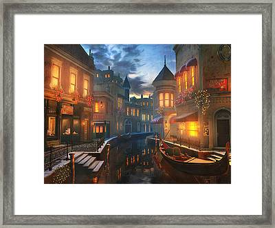 Enchanted Waters Framed Print by Joel Payne