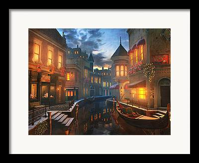 Gondola Framed Prints