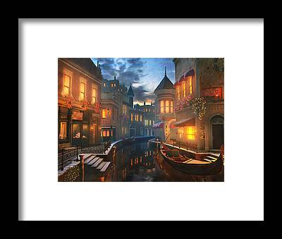 Night Framed Prints