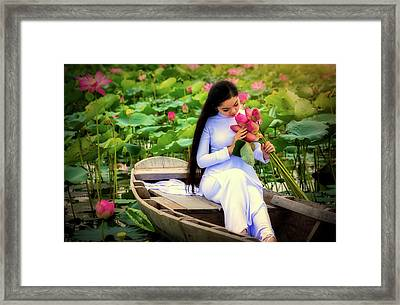 Enchanting Beauty Framed Print