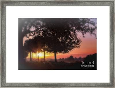 Enchanting Morning Sunrise Framed Print