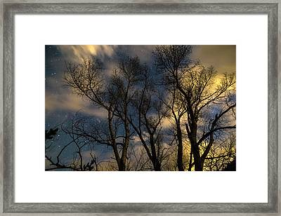 Framed Print featuring the photograph Enchanting Night by James BO Insogna