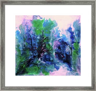 Enchanting Framed Print by Sharon K Wilson
