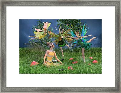 Enchanting Souls Framed Print