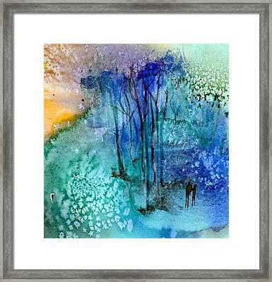 Enchantment Framed Print by Anne Duke