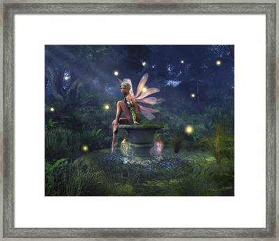 Enchantment - Fairy Dreams Framed Print by Melissa Krauss