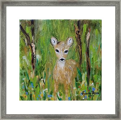 Framed Print featuring the painting Enchantment by Judith Rhue