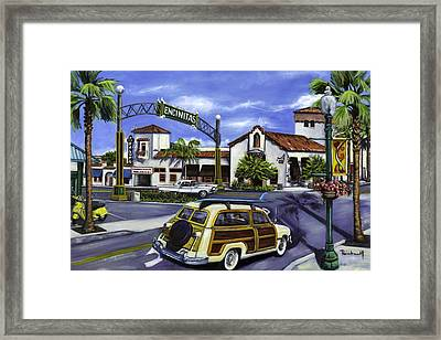 Encinitas Dreaming Again Framed Print