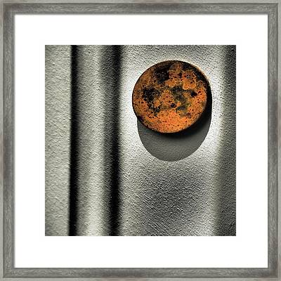 Encompass Framed Print by Tom Druin