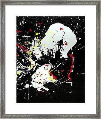 Encounter 2 Framed Print by Paul Freidin