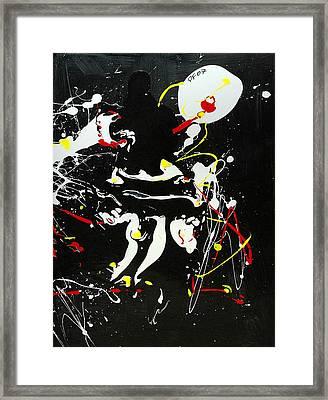 Encounter Framed Print by Paul Freidin