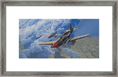 Encounter Framed Print by Steven Heyen