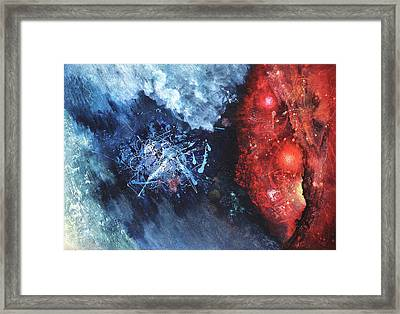 Encounter Framed Print by Vasco Kirov