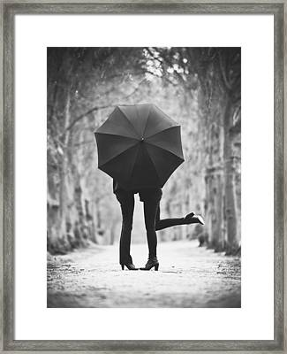 Encounters Framed Print by Matthias Leberle