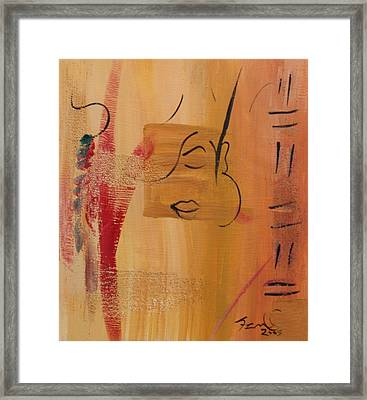 Encounters  Framed Print by Simone Fennell
