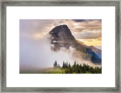 Encroaching Fog Framed Print