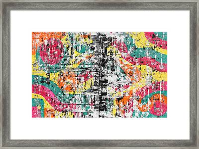 Encryption Framed Print