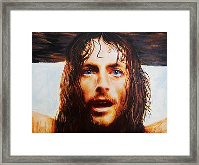 Encumbrance Framed Print by Mandy Thomas