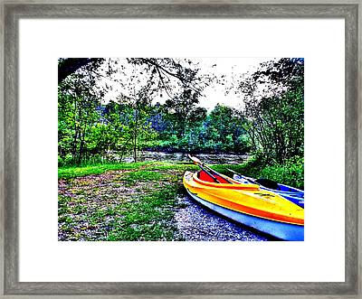 End Framed Print