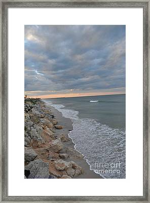 End Of A Beautiful Day Framed Print