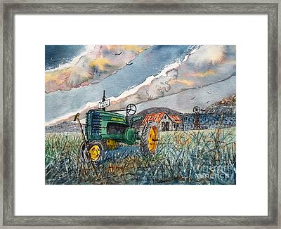 End Of A Era Framed Print by Don Hand