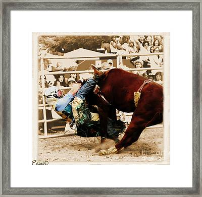End Of A Helluva Ride Framed Print
