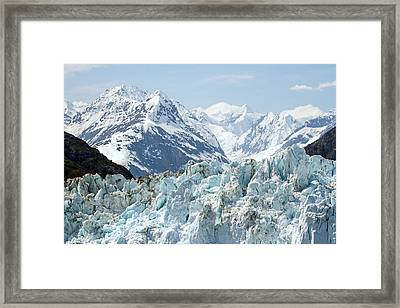 Glaciers End Of A Journey Framed Print