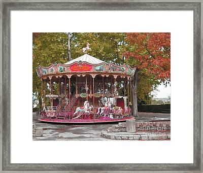 Framed Print featuring the photograph End Of A Season by Victoria Harrington