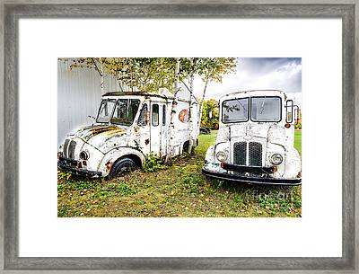 End Of An Era Framed Print by Jim Rossol