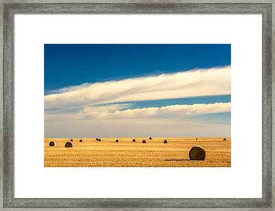 End Of Autumn Framed Print by Todd Klassy