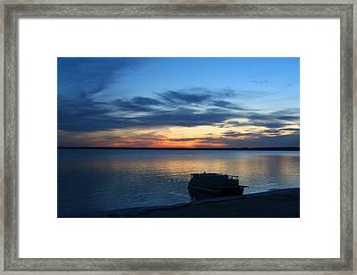 End Of Day Framed Print by Brook Burling