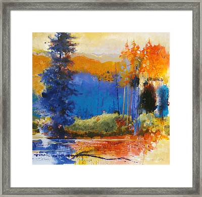 End Of Day Framed Print by Dale  Witherow