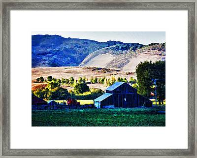 End Of Day Framed Print by Patricia Stalter