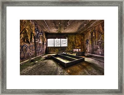 End Of Humanity Framed Print